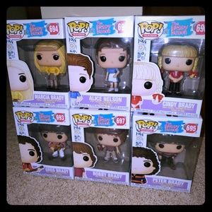 Brady Bunch Funko Pop set